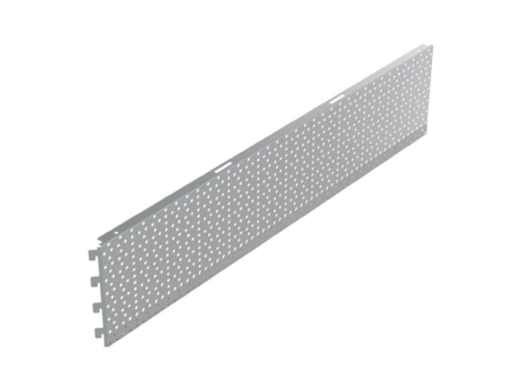 Zadní panel koutový 90° děrovaný RL 880x200 mm