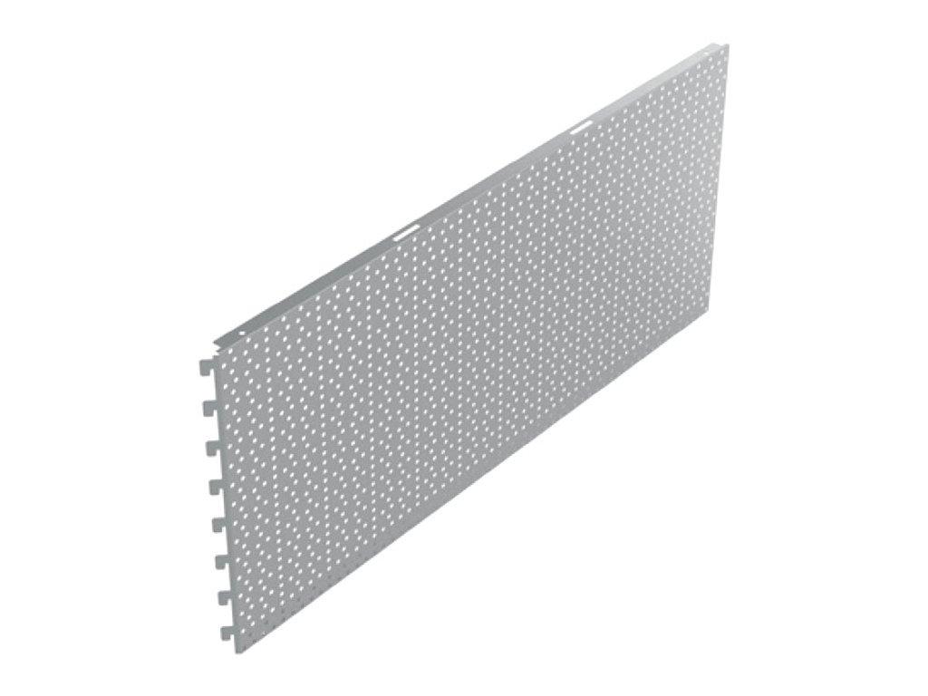 Zadní panel koutový 90° děrovaný RL 880x400 mm