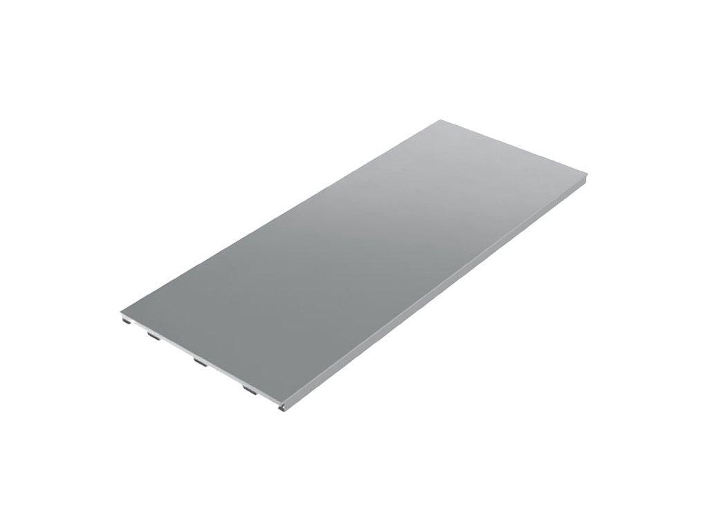 Police kovová těžká 625x300 mm