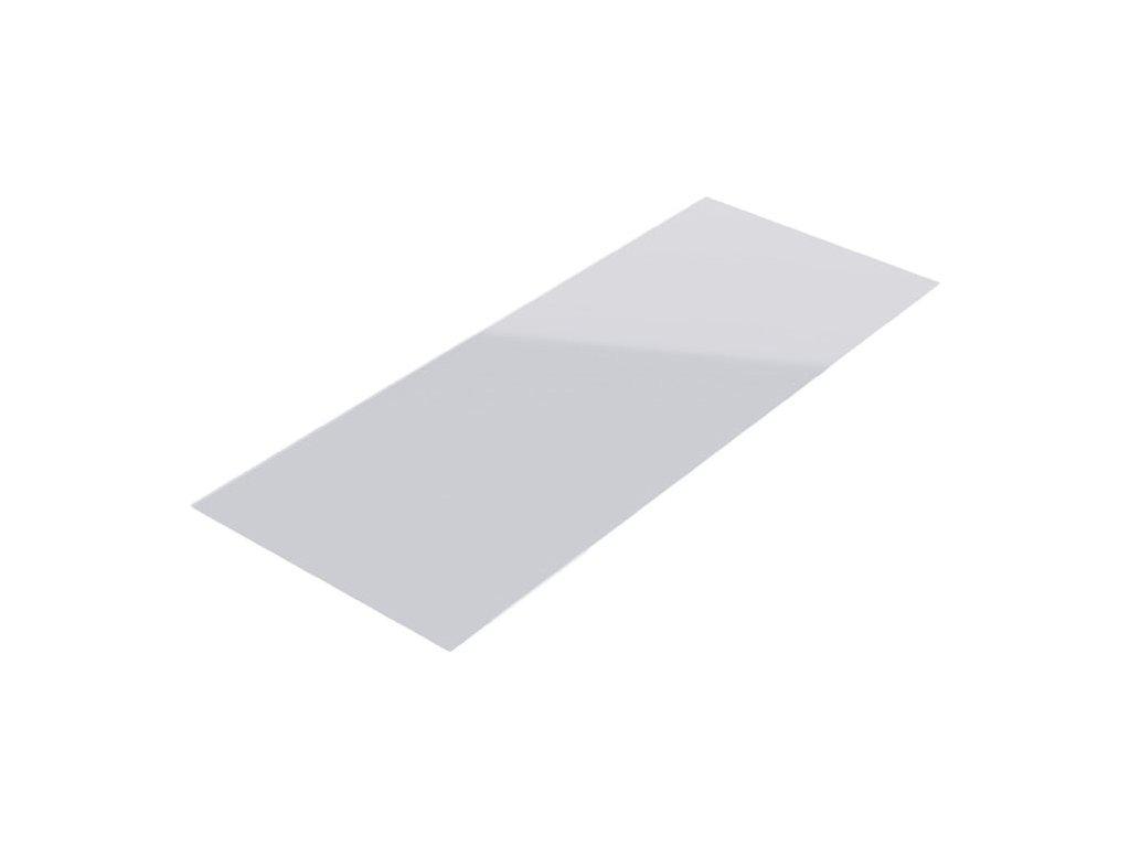 Police skleněná 625x200 mm