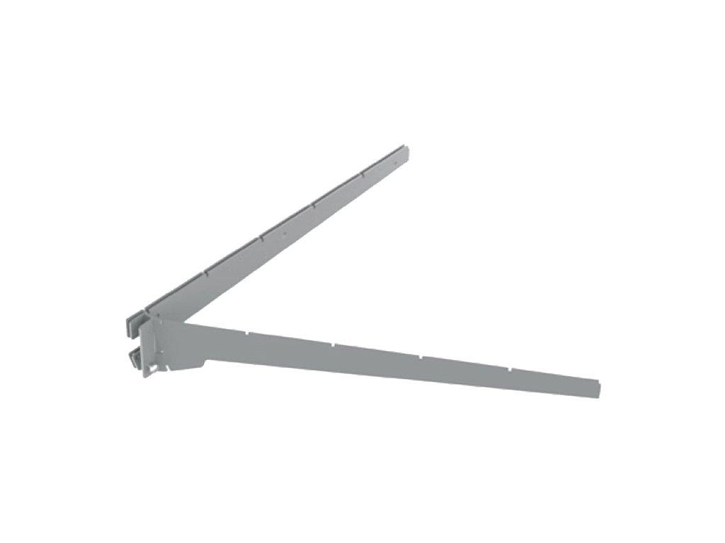 Konzola dvojitá půlkruh/lichoběžník 500 mm-pravá