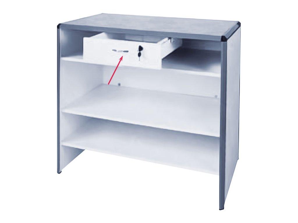 Zásuvka pod desku pultu