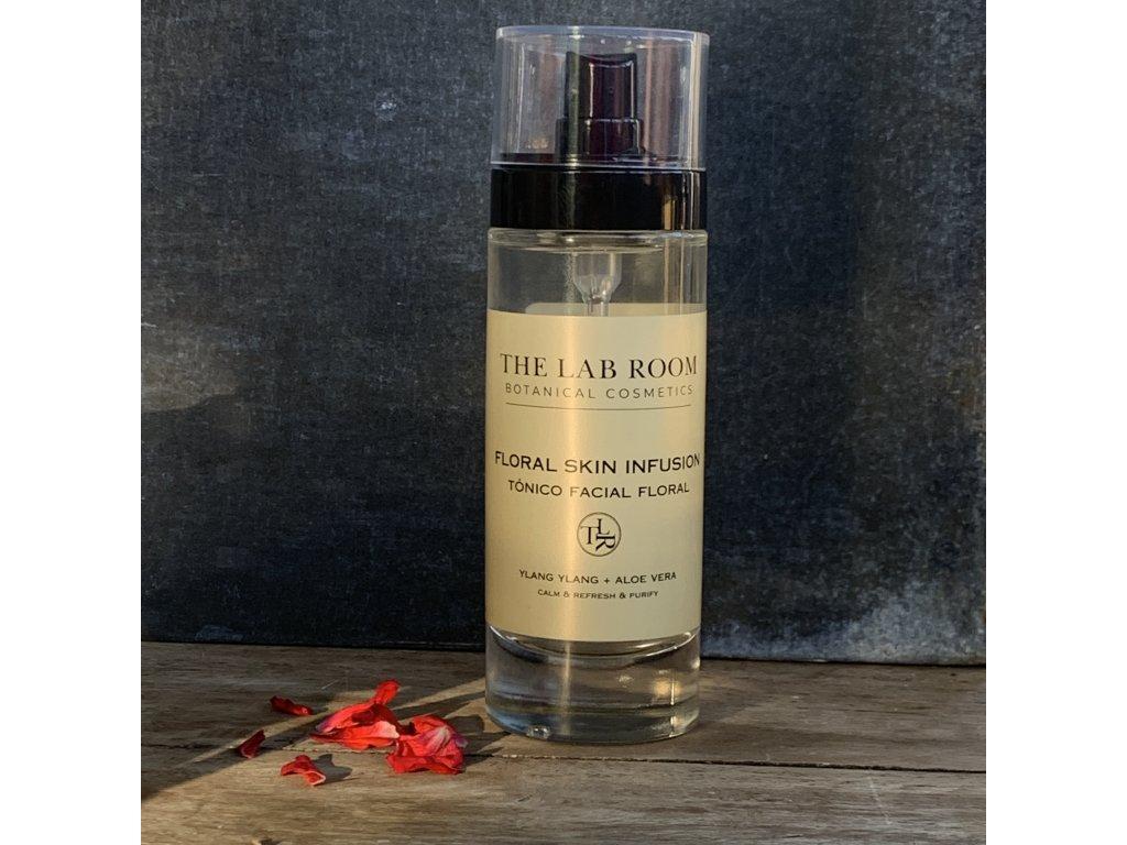 THE LAB ROOM Květinové duo - čistící mléko a tonikum - mlha
