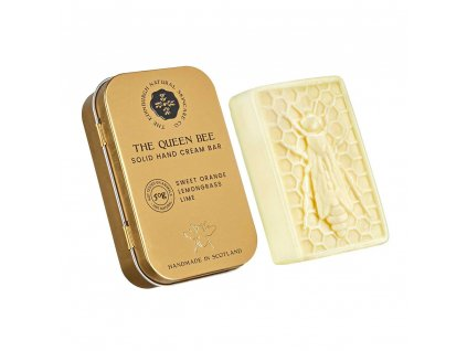 the queen bee solid hand cream bar