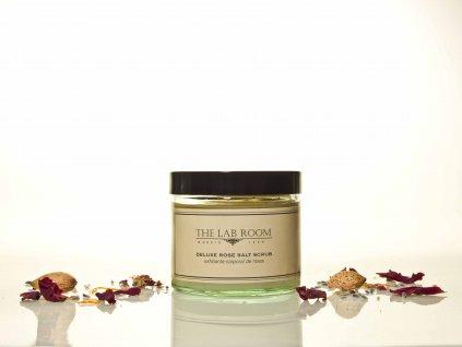Luxusní olejový peeling se solí z Mrtvého moře, THE LAB ROOM, 250 ml