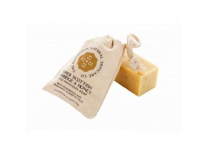 EDINBURGH SKINCARE Super mýdlo skotská ovesná kaše a med