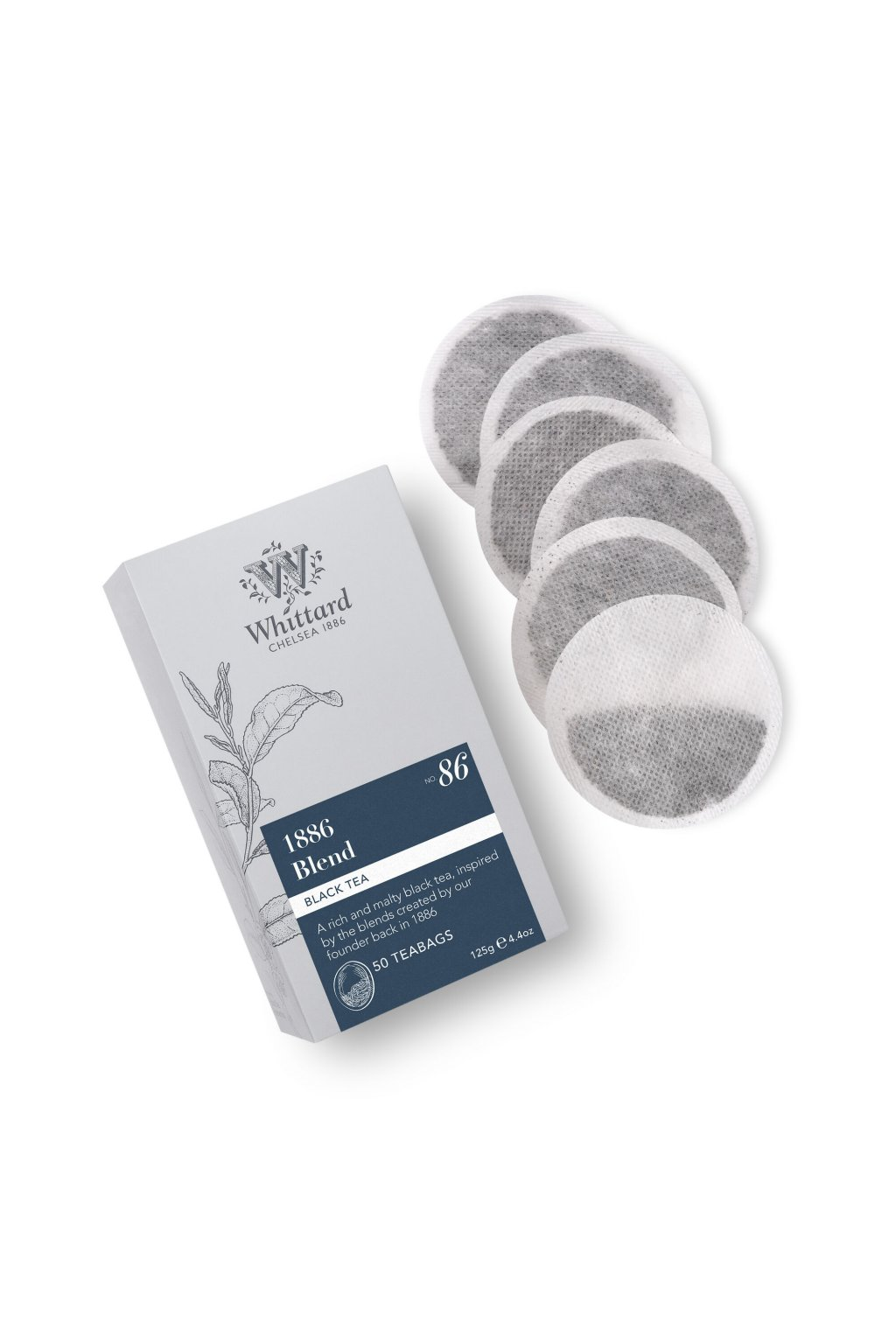 339515 Silver 50 Teabags 1886 Blend 1