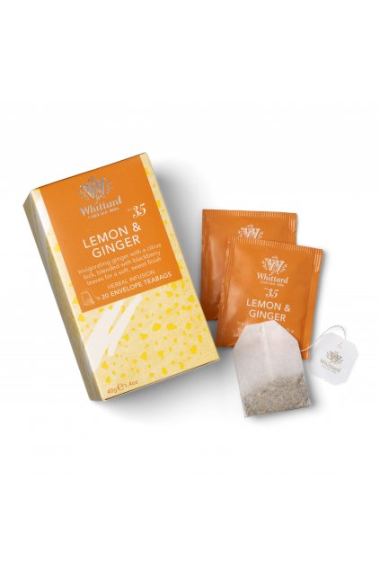334060 lemon ginger teabags t&es 1