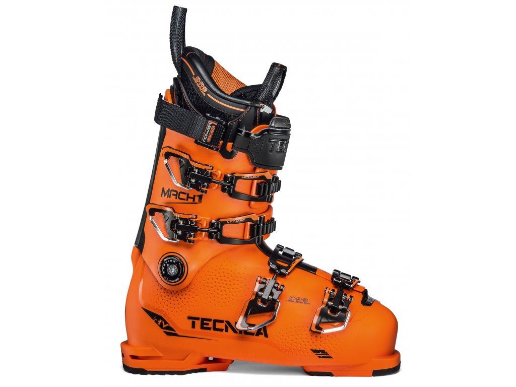 lyžařské boty TECNICA Mach1 HV 130, ultra orange/black, 19/20