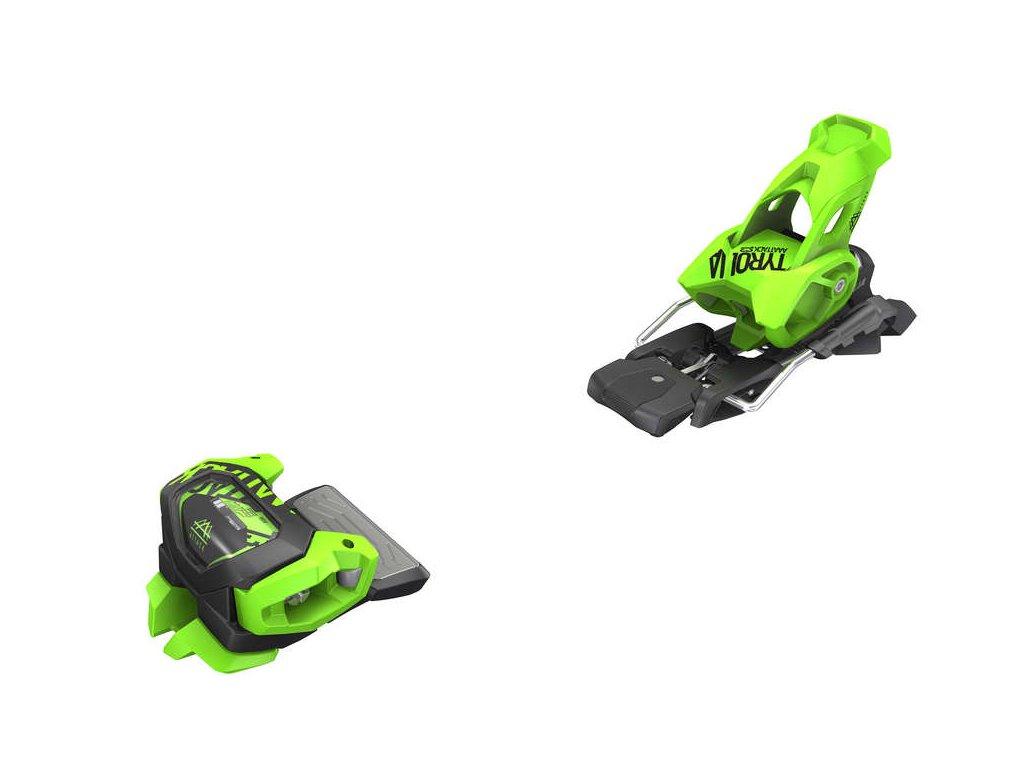 lyžařské vázání TYROLIA Attack2 13 GW W/O Brake [A], green, 19/20