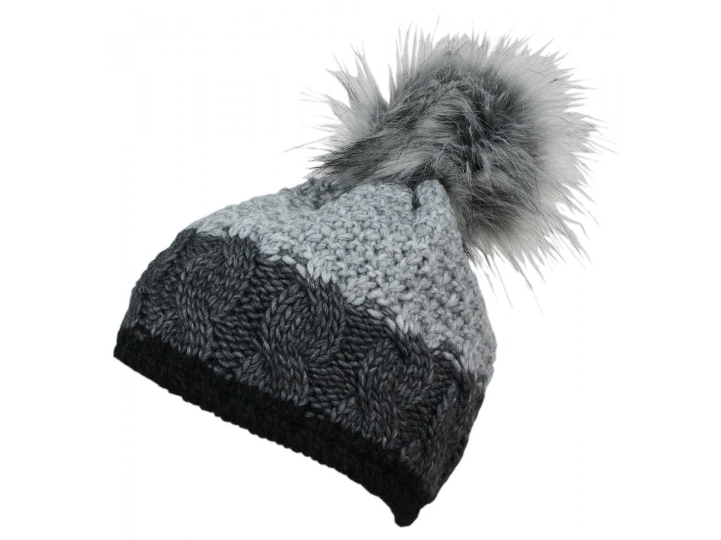 čepice BLIZZARD Zell black/grey/grey