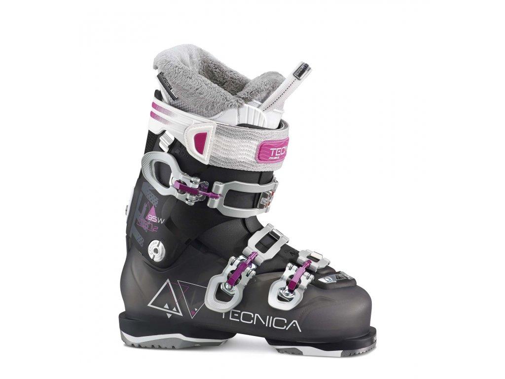 lyžařské boty TECNICA TEN.2 95 W C.A., transp. black/black, 16/17