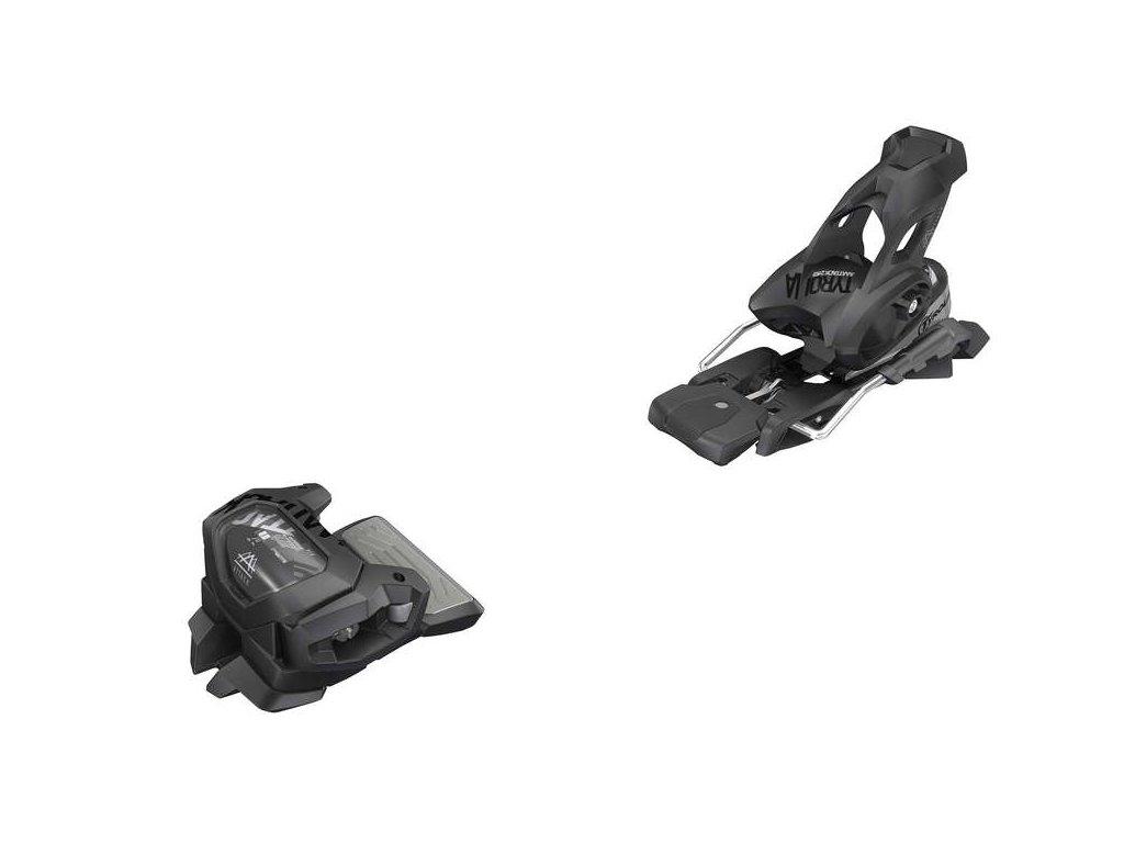 lyžařské vázání TYROLIA Attack2 16 GW W/O Brake [A], solid black, 19/20