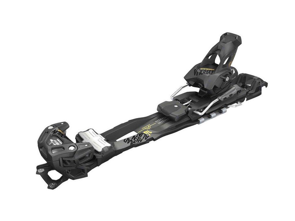 lyžařské vázání TYROLIA Adrenalin 14 AT short W/O Brake [F], solid black, 19/20