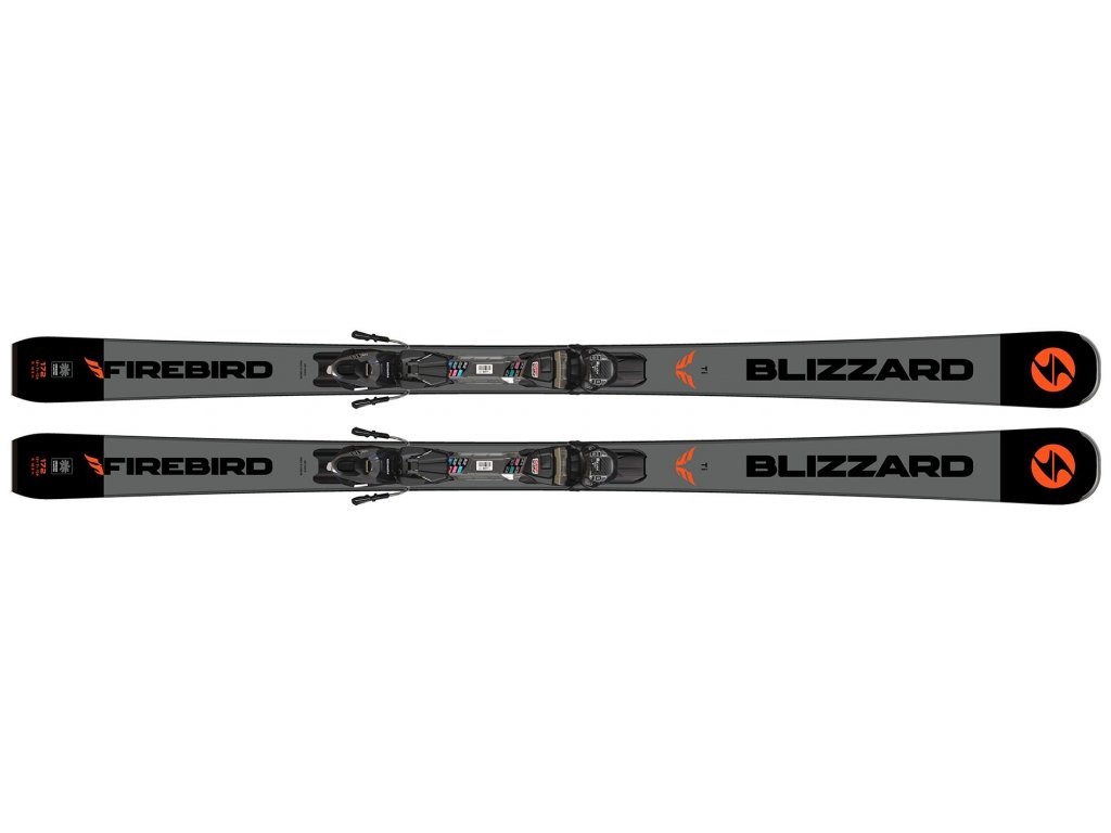 sjezdové lyže BLIZZARD Firebird Ti, black/grey, 19/20 + binding TPC 10 DEMO, 19/20