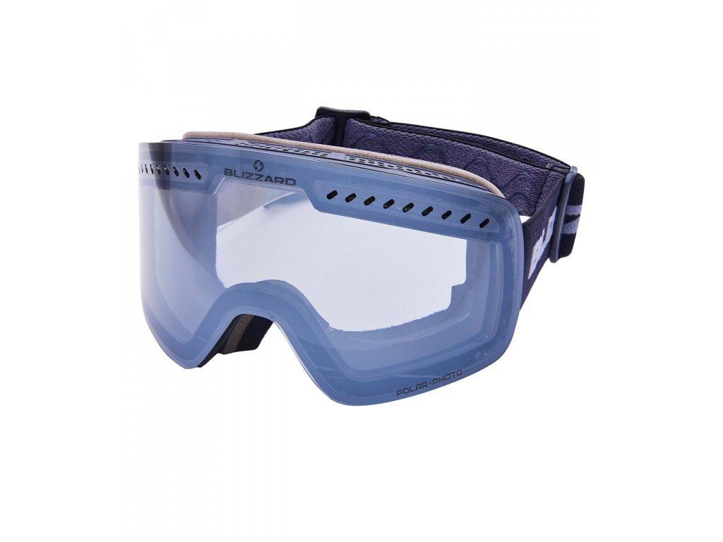 lyžařské brýle BLIZZARD Ski Gog. 985 MDAVFOO, black matt, 1-3, silver mirror