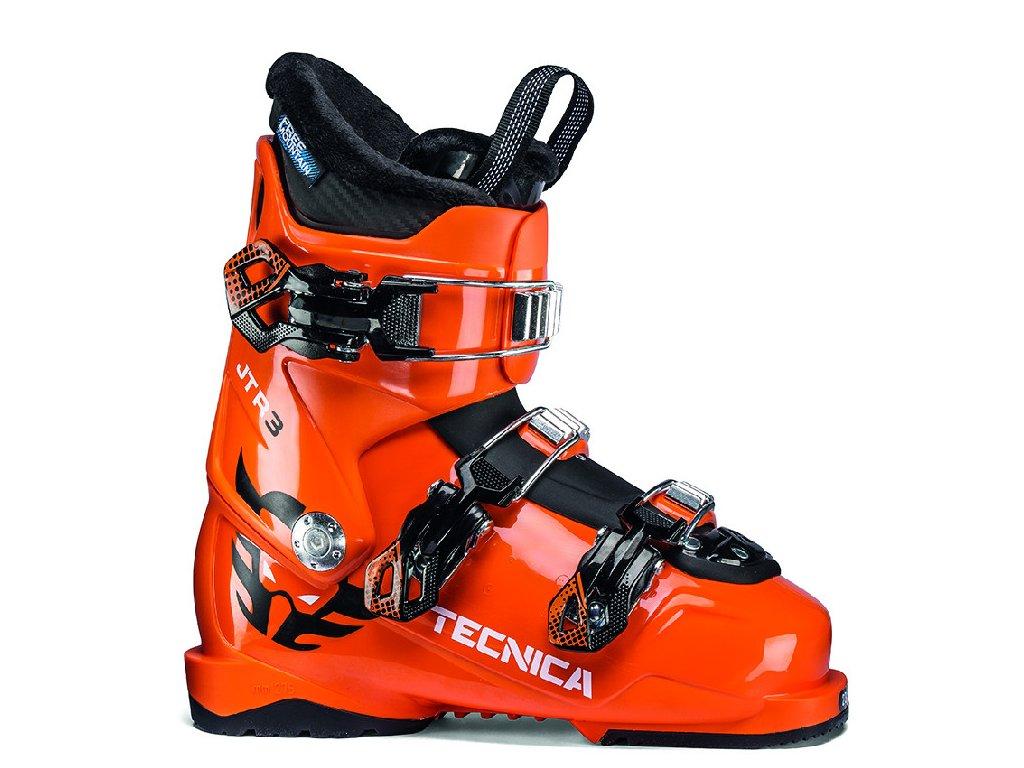 lyžařské boty TECNICA JTR 3, ultra orange, rental, 19/20
