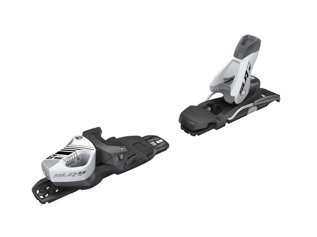 lyžařské vázání TYROLIA SLR 7.5 GW AC Brake 78 [H], solid white/black, 20/21 + SLR PRO Base XM, black