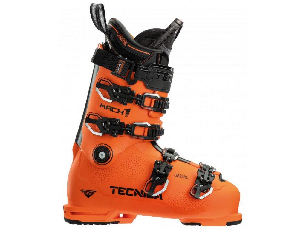 lyžařské boty TECNICA MACH1 HV 130, ultra orange, 20/21