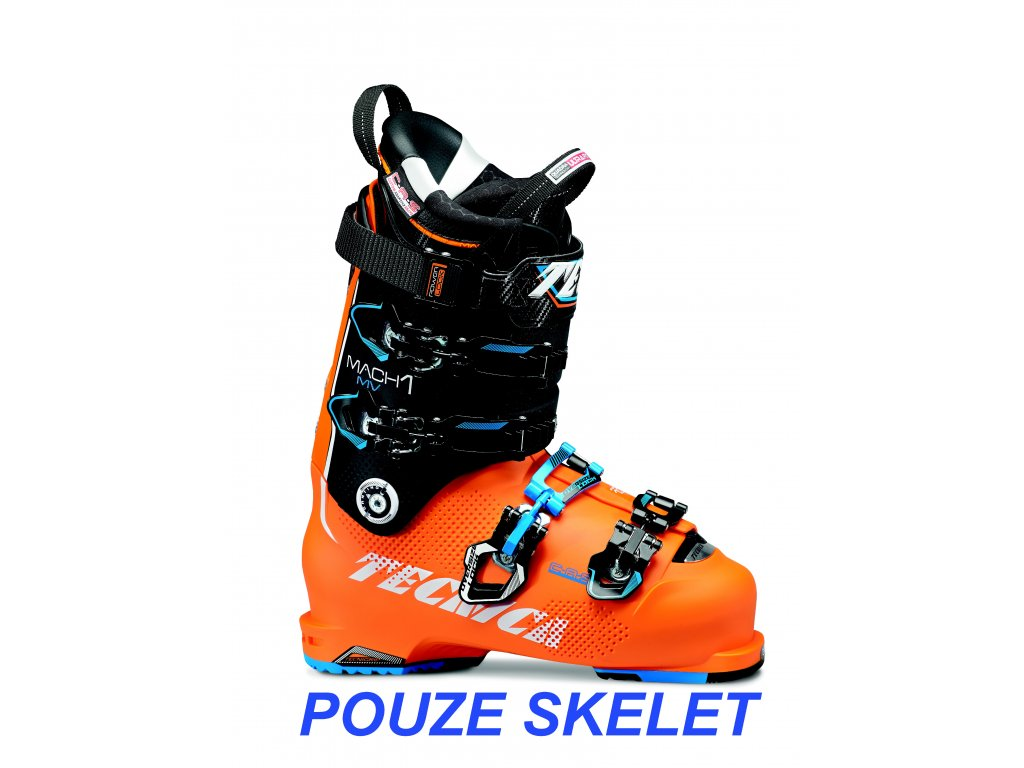 lyžařské boty TECNICA Mach1 130 MV, bright orange/black, only shell, 16/17