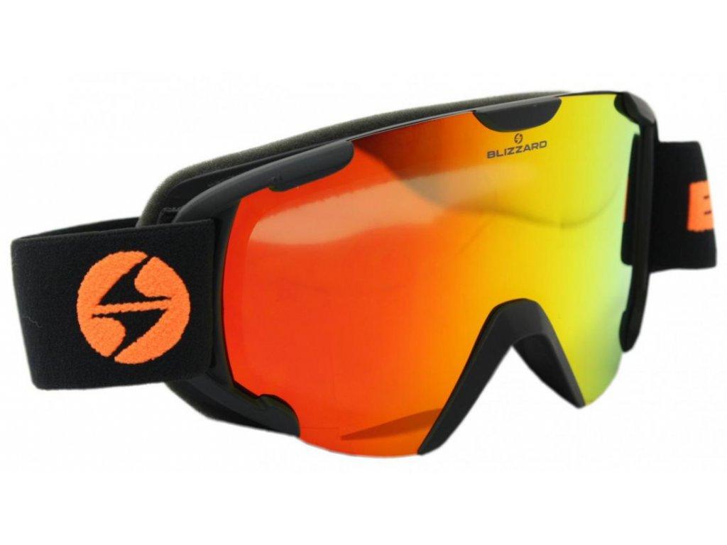lyžařské brýle BLIZZARD Ski Gog. 938 MDAVZO, black matt, smoke2, red revo