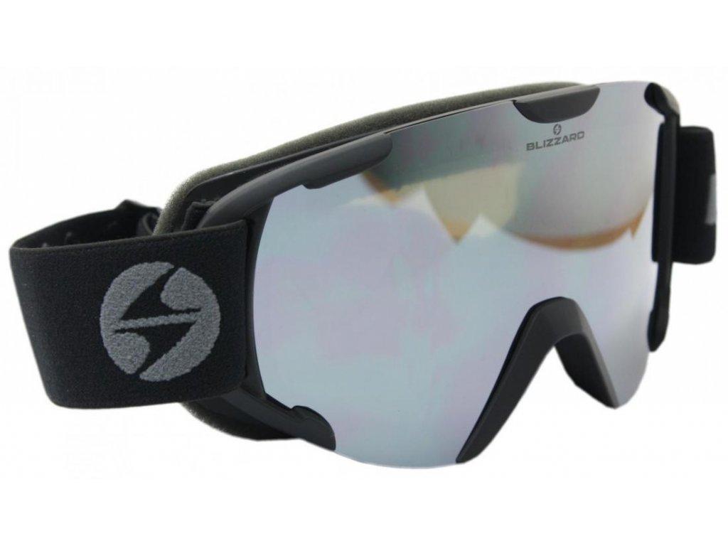 lyžařské brýle BLIZZARD Ski Gog. 938 MDAVZO, black matt, smoke2, black revo