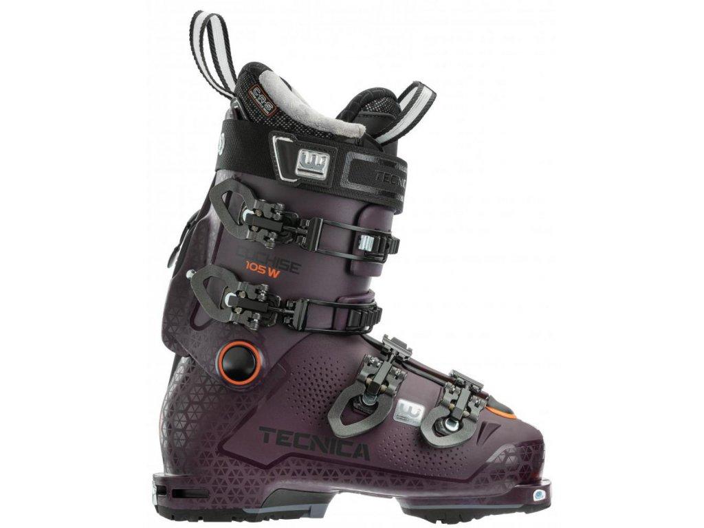 lyžařské boty TECNICA COCHISE 105 W DYN GW, w.bordeaux, 20/21