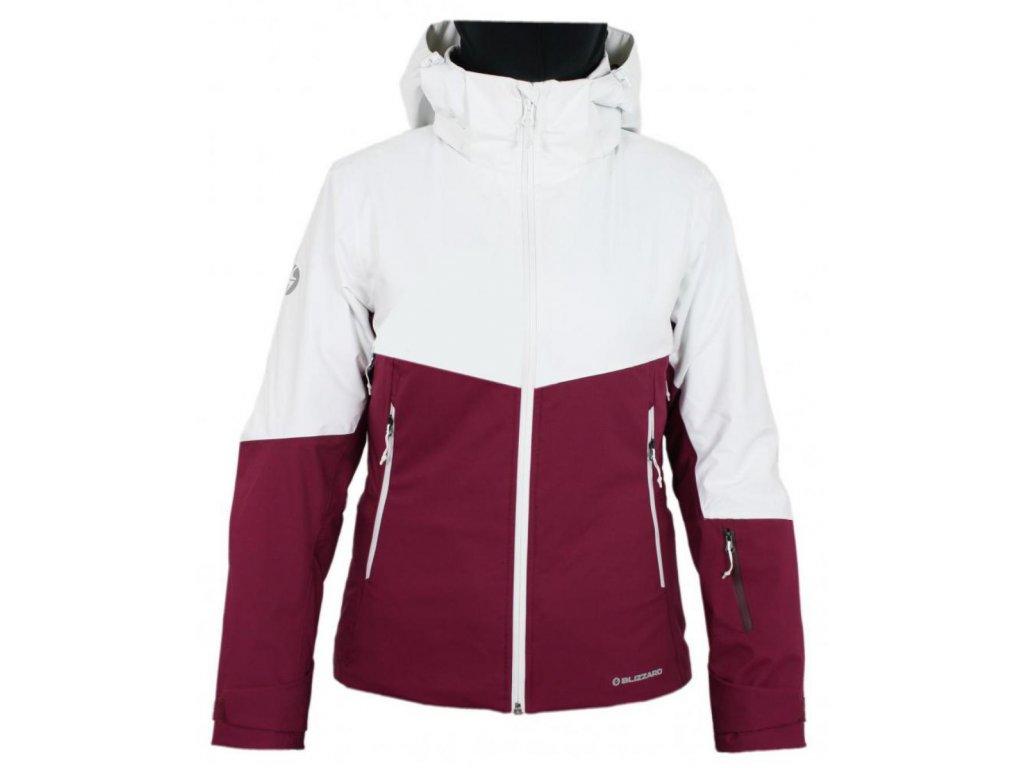 lyžařská bunda BLIZZARD Viva Ski Jacket Peak, purple/white