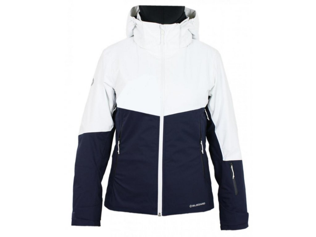lyžařská bunda BLIZZARD Viva Ski Jacket Peak, navy blue/white