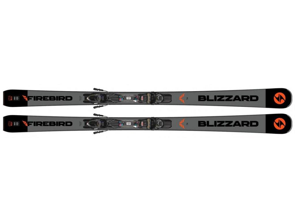 sjezdové lyže BLIZZARD II. quality Firebird TI, black/grey + binding TPC 10 DEMO, 19/20