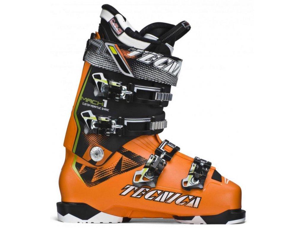 lyžařské boty TECNICA Mach1 130, bright orange/black, 14/15