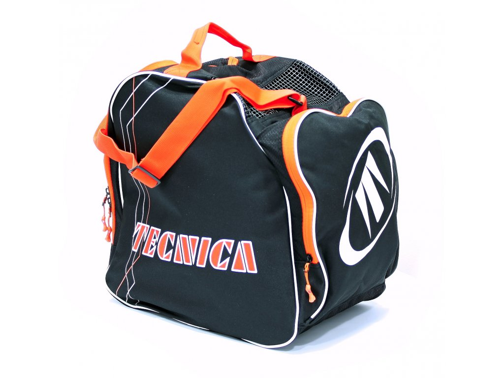 taška na lyžáky TECNICA Skiboot bag Premium, black/orange
