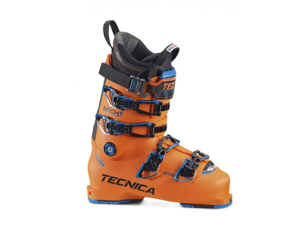 lyžařské boty TECNICA Mach1 130 MV, bright orange/black, 17/18