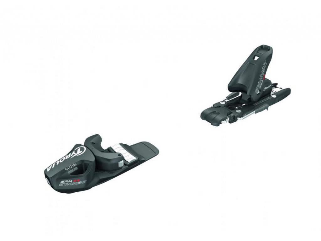 lyžařské vázání TYROLIA binding SRM 4.5 AC, brake 74 (K), solid black, AKCE