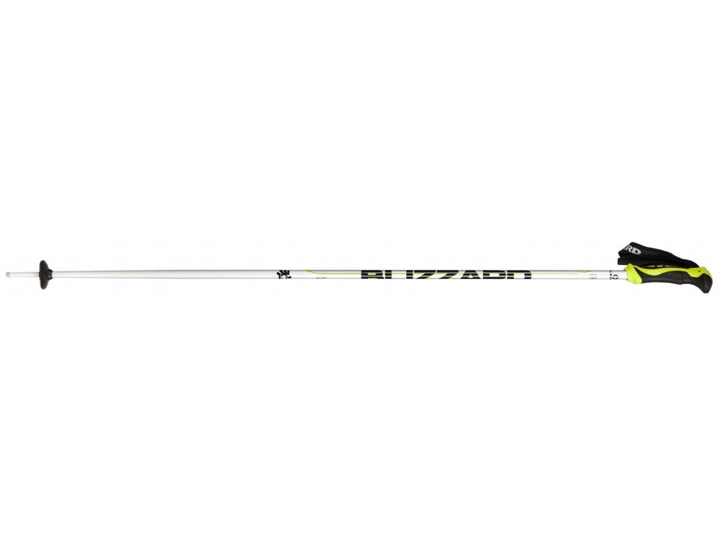 lyžařské hůlky BLIZZARD Allmountain ski poles, silver/neon green