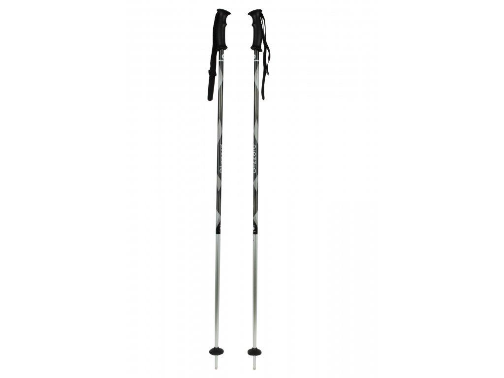 lyžařské hůlky BLIZZARD Viva Sport ski poles, black&white