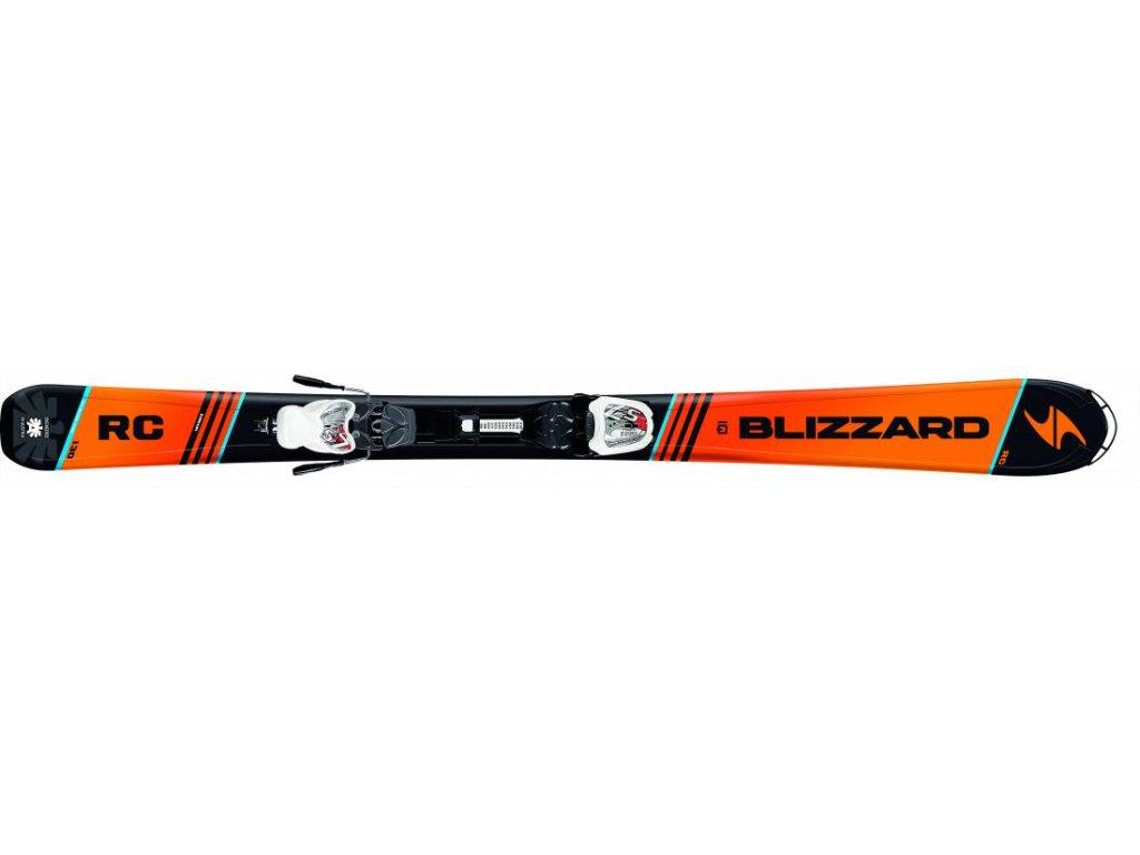 sjezdové lyže BLIZZARD RC JR IQ, 17/18 + vázání IQ 4.5, 17/18  + montáž + seřízení vázání ZDARMA