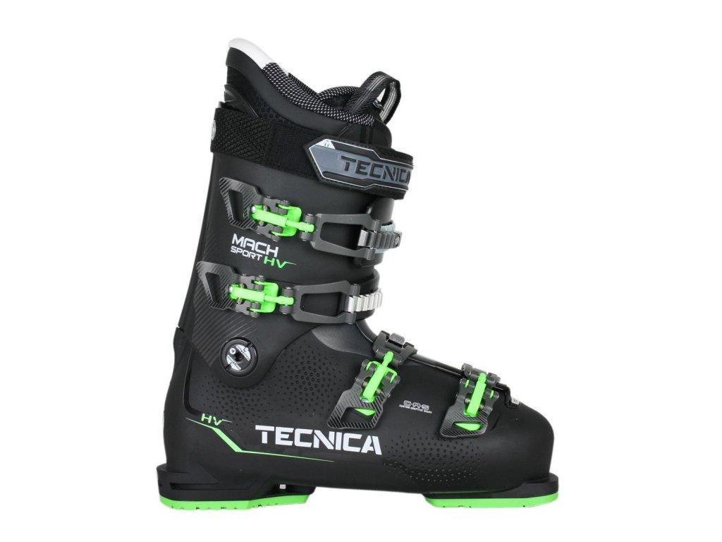 lyžařské boty TECNICA Mach Sport 90 HV SMU CZ, black/green, 18/19