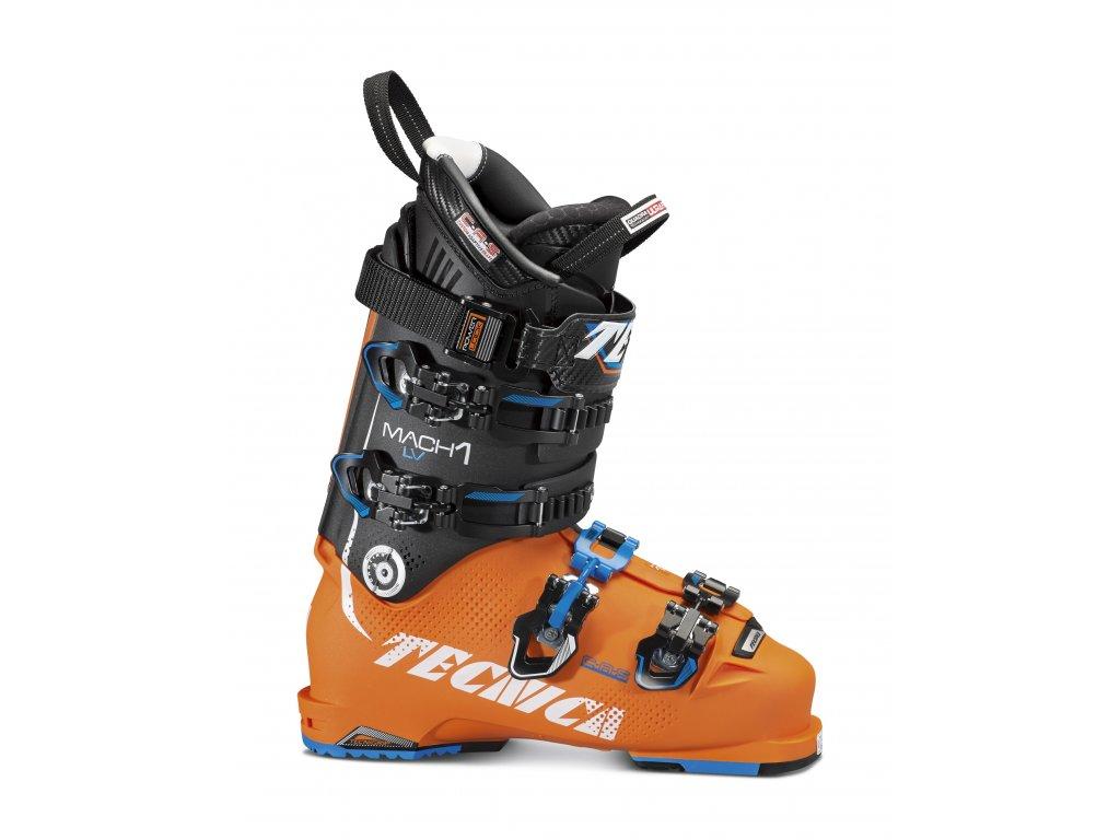 lyžařské boty TECNICA Mach1 130 LV, bright orange/black, 16/17