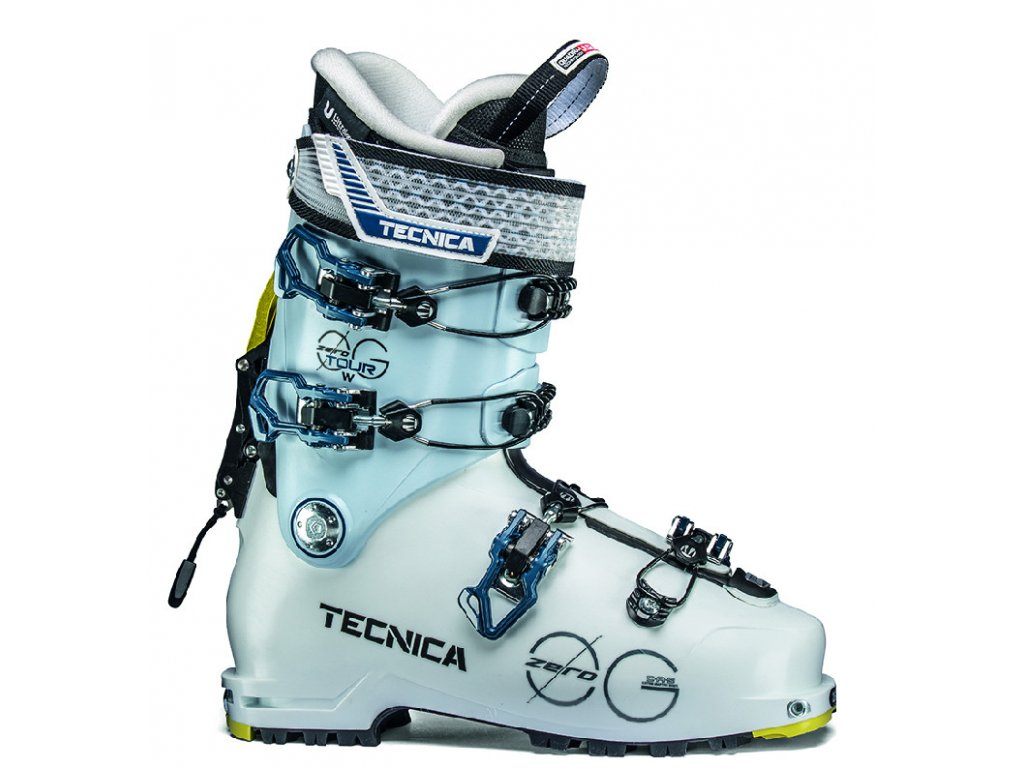 lyžařské boty TECNICA Zero G Tour W, white/ice, 18/19