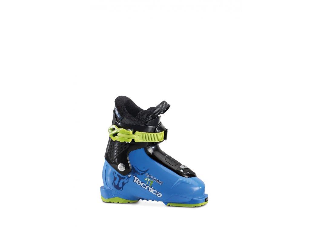 lyžařské boty TECNICA JTR 1 Cochise, procces blue, rental, 17/18