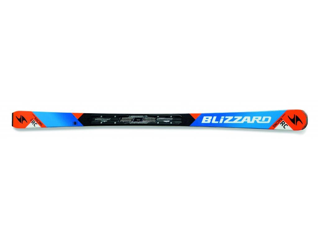 set sjezdové lyže BLIZZARD RC Ca, black/blue/orange, AKCE + vázání TP10 DEMO, AKCE  + servis lyží + montáž + seřízení vázání ZDARMA