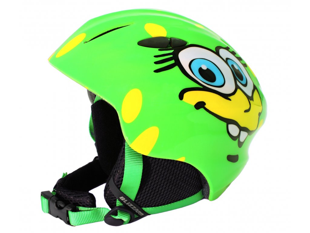 helma BLIZZARD Magnum ski helmet junior, green cheese shiny