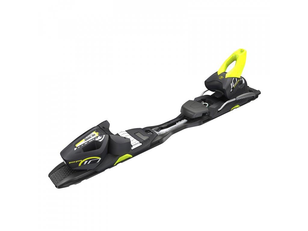 lyžařské vázání TYROLIA vázání TYROLIA PR 10 PROMO, brake 78 (G), solid black/fl.yellow, 16/17 + deska Power Rai Rail RS