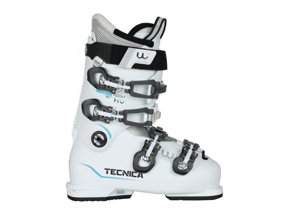 lyžařské boty TECNICA Mach Sport 75 W HV, white/blue, 18/19