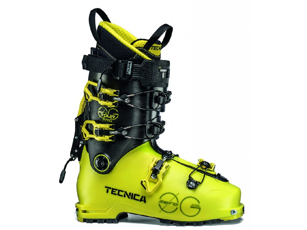 lyžařské boty TECNICA Zero G Tour PRO, bright yellow/black, 18/19