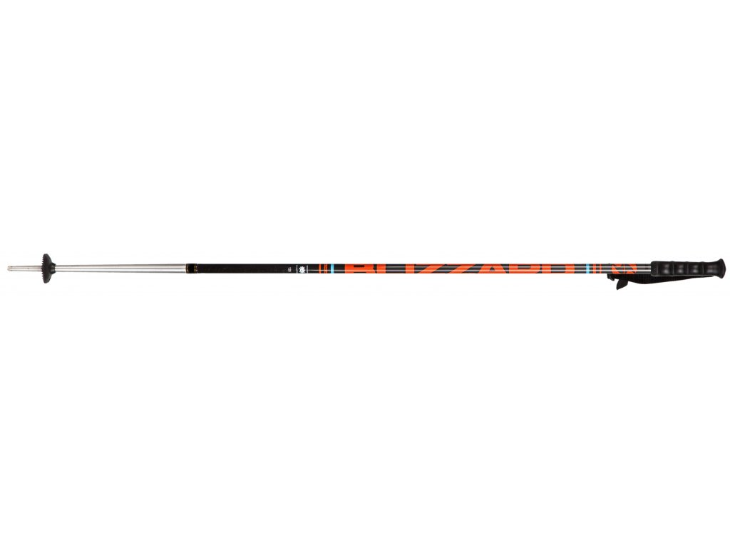 lyžařské hůlky BLIZZARD Race 7001/carbon ski poles, black/orange