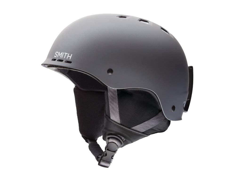 SMITH SNOW HELMETS 2016 HOLT MATTE GUNMETAL