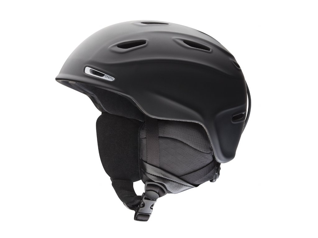 SMITH SNOW HELMETS 2016 ASPECT MATTE BLACK