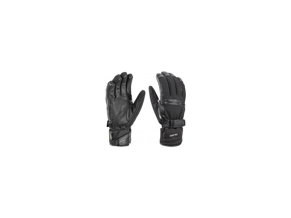 LEKI Glove Peak S GTX black